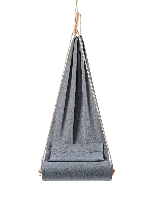ערסל ישיבה תלוי בצבע אפור
